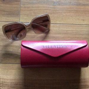 Valentino 5682/S Tan Ombré Sunglasses